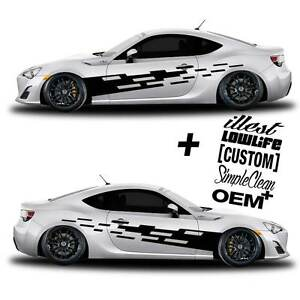 Vinyl Body Graphics Tuning Tear Car Sticker Decal 056 5 Decals Jdm Euro Race