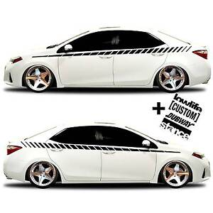Vinyl Body Graphics Stripes Car Truck Sticker Decal 020 4 Decals Jdm Euro Race
