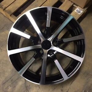 19 Accord Hfp Style Wheels Rims Black Fits Honda Crv Odyssey Acura Tsx Tl