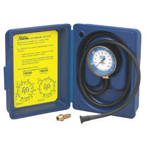 Yellow Jacket Gas Pressure Test Kit 0 To10 In Wc 78055