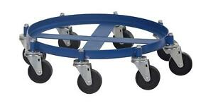 Vestil Octo 55 ci Octo Drum Dolly With Cast Iron Casters 2000 Lbs Capacity