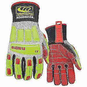 Ringers Gloves Glove ir kevloc 3xl hivis pr 298 13 High Visibility Green Red