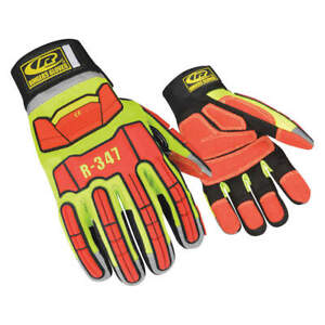 Ringers Gl Glove rescue cut Resistant s hi vis pr 347 08 High Visibility Green