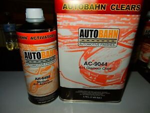 Ac 9044 Autobahn 5 Quart Kit Same Clear That Has Been Sold As Wet Wet Clear Coat