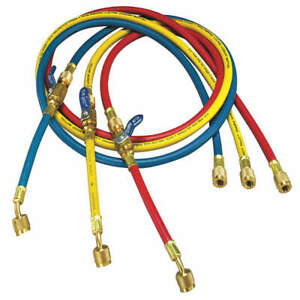 Yellow Jacket Manifold Hose Set 72 In red yellow blue 25986 Red Yellow Blue