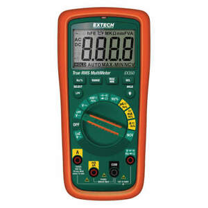 Extech Multimeter 10 Mhz aa full Size Style Ex350