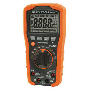 Klein Tools Digital Multimeter lcd 40 Megohm trms Mm700