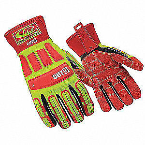 Ringers G Cut Resistant Gloves s ylw red pr 299 08 High Visibility Yellow Red