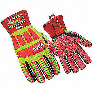 Ringers Cut Resistant Gloves 3xl ylw red pr 269 13 High Visibility Yellow Red