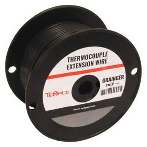 Tempco Thermocouple Ext Wire jx 20awg sol 250ft Tcwr 1009