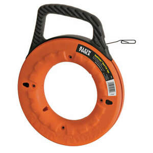 Klein Tools Marked Fish Tape 1 8 In X 65 Ft steel 56002