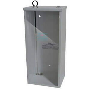 Grainger Approved Fire Extinguisher Cabinet white 3zv09