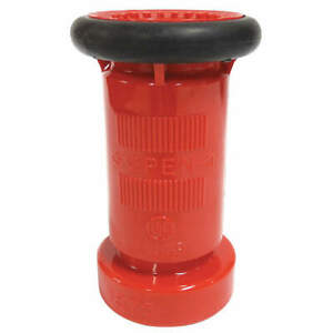 Elkhart Brass Fire Hose Nozzle 1 1 2 In black 1575