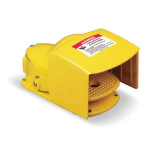Square D Steel Heavy Duty Foot Switch momentary Action 9002aw132 Yellow