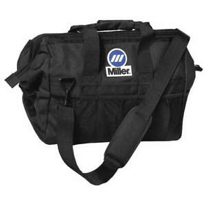 Miller Electric Polyester Tool Bag 22 Pockets 22 x14 x12 black 228028 Black