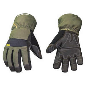 Youngstown Gl Cold Protection Gloves 2xl blk grn pr 11 3460 60 xxl Black green