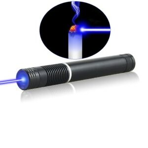 High Power Sx4 a 450nm Focus Visible Blue Beam Laser Pointer Pen With 5 Caps
