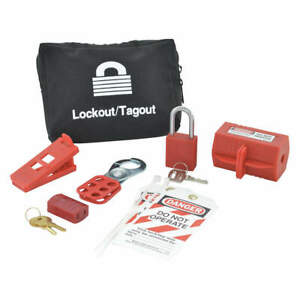 Portable Lockout Kit filled electrical 6 95550