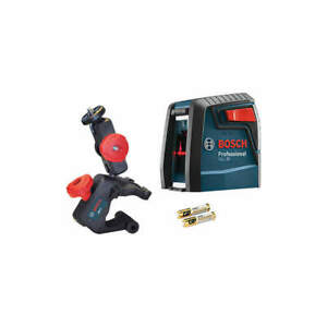 Bosch Gll 30 Cross Line Laser red Beam 30 Ft Range