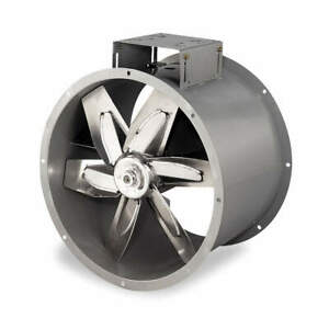 Dayton Tubeaxial Fan 28 5 16 In H 18 1 2 In W 4c660