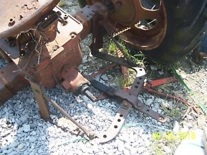 International farmall H Tractor Rear Drawbar Assm Belly And Horse Shoe
