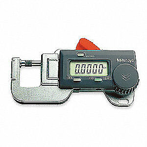 Mitutoyo Digital Thickness Gage 0 2 Dia 0 0 5 In 700 118 20