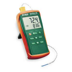 Extech Thermocouple Thermometer 1 Input type K Ea11a