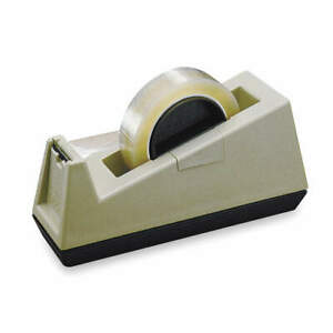 Scotch Table Top Dispenser tape Width 1in C25 Tan