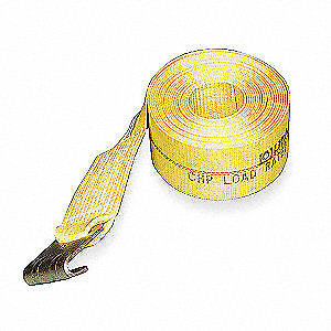 Lift all Winch Strap winch not Incld poly 27ft 61201 Yellow