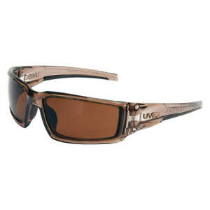 Honeywell Uvex Polarized Safety Glasses espresso S2969