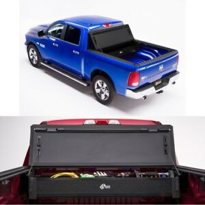 Bakflip Mx4 Truck Tonneau Cover W Storage Box For 09 18 Dodge Ram 1500 5ft 7in