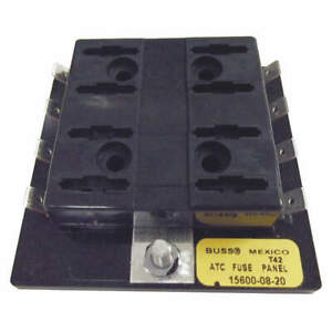 Eaton Bussmann Fuse Block automotive 30a 8 Pole 15600 08 20
