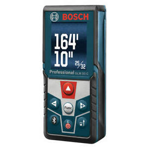 Bosch Blaze Laser Distance Meter indoor 165 Ft Glm 50 C