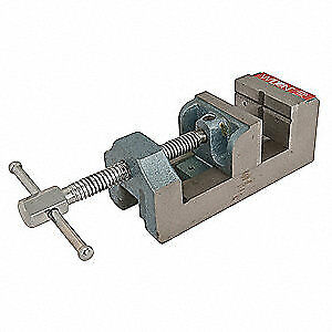 Wilton Drill Press Vise 1 3 4 D 3 1 8 In Open 12860