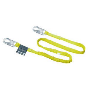Honeywell Miller Shock absorbing Lanyard 6 Ft 310 Lb 216wls z7 6ftyl Yellow
