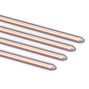 Nvent Erico 615880 Ground Rod dia 5 8 In 8 Ft L