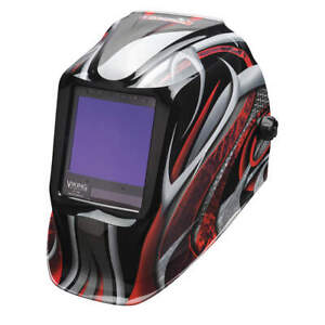 Lincoln Electric K3248 4 Welding Helmet twisted Metal Graphic