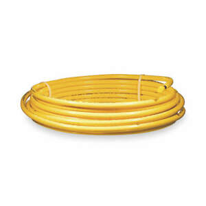 Mueller Industries Plastic Coated Yellow Coil 1 2 Od 50 Ft Dy08050