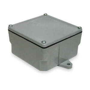 Cantex Electrical Box pvc 13x13x6 1 4 In 5133713 Gray