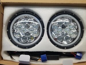 7 Inch Led Headlight With Halo Jeep