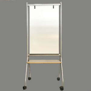76 x30 Herman Miller Mobile Easel Magnetic Writing Whiteboard