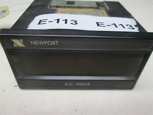 Newport 200as 4 A3 D2 Digital Panel Dc Volt Meter 1 Amp 115 Vac 1mv Res