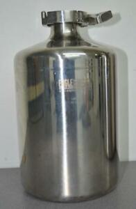 Eagle Stainless Steel 5l Bottle Ps 18f W Cap Clamp