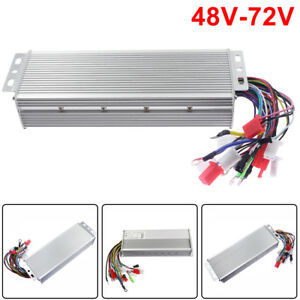 48 72v 1500w Electric Bicycle E bike Scooter Brushless Dc Motor Speed Controller