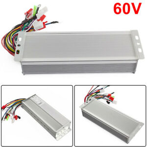 1x 60v 1000w Electric Bicycle E bike Scooter Brushless Dc Motor Speed Controller