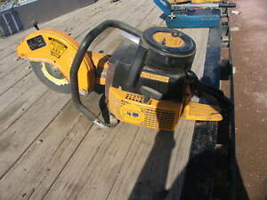 Wacker Bts12 Cut off Chop Saw Concrete Asphalt Rebar Demolition