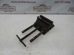Heinrich National Machine Tools Model 30b Vise 8 Width 2 750 Depth 11 Opening