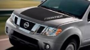 2005 2018 Nissan Frontier With Word Hood Graphic Decal Blackout Matte Black