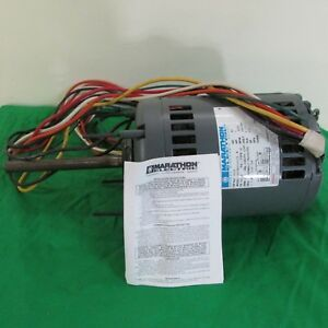 Marathon Electric Motor Suf56a11017a Cat No X206 1 Hp