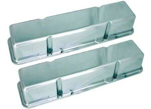 Big End Performance 70030 3 11 16 In Tall Polished Valve Covers Small Block C